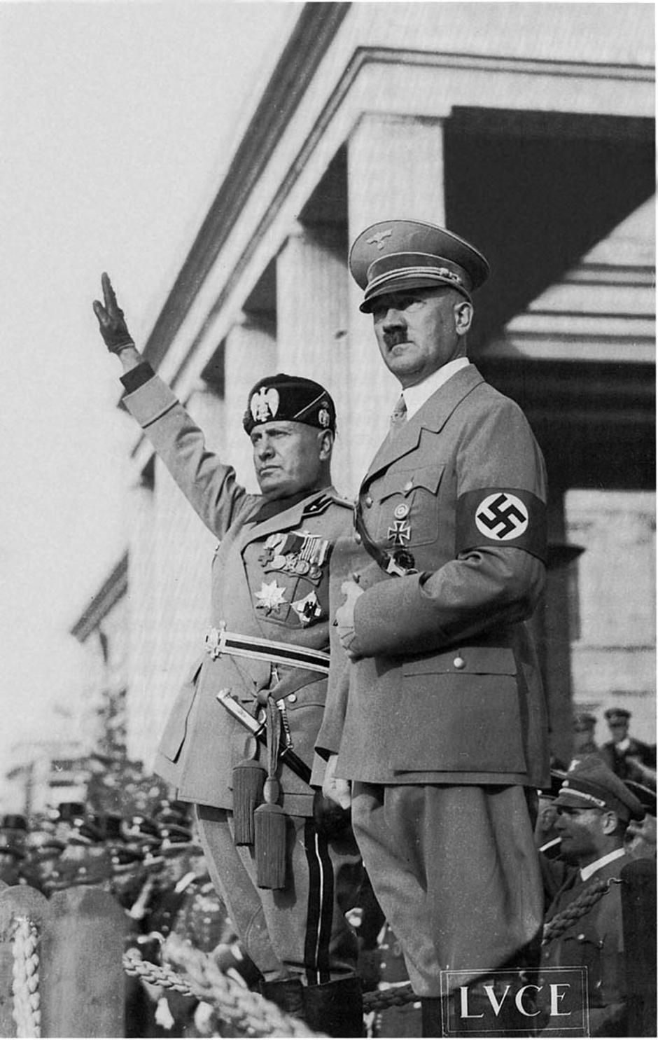 Hitler i Benito Mussolini | Author: Wikipedia