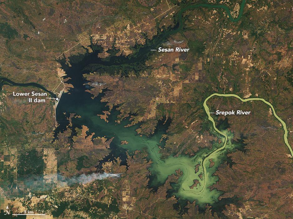 Rijeka Mekong | Author: NASA