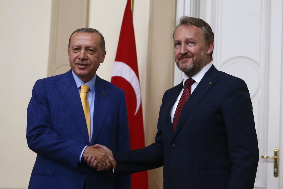 Tayyip Erdogan i Bakir Izetbegović | Author: REUTERS