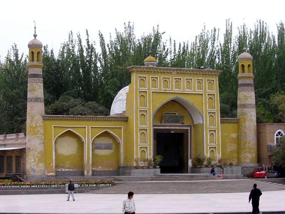 Xinjiang u Kini - džamija u glavnom gradu pokrajine Urumqiju   Author: Wikipedia
