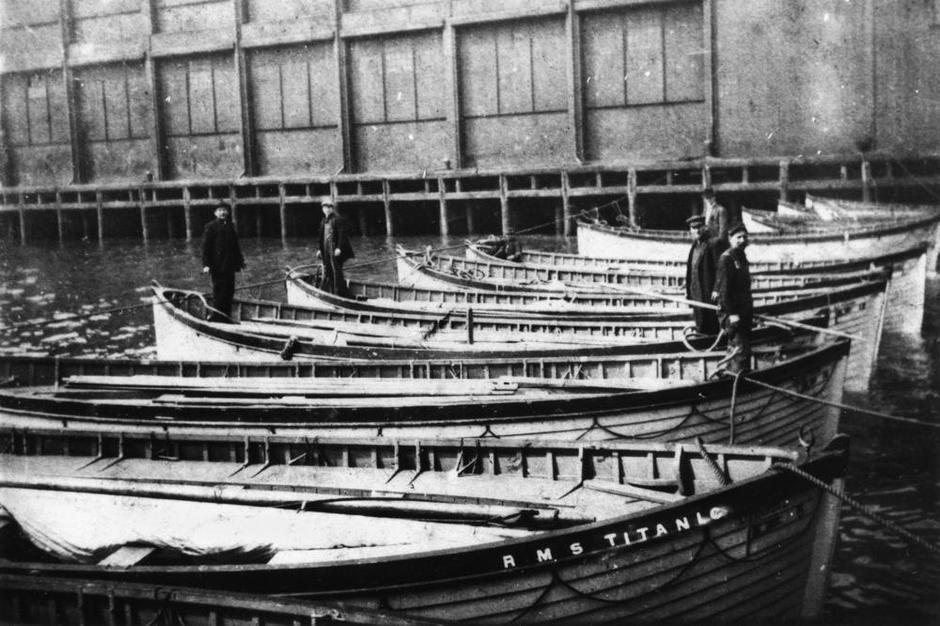 Prikaz čamaca za spašavanje s Titanica | Author: Wikimedia Commons