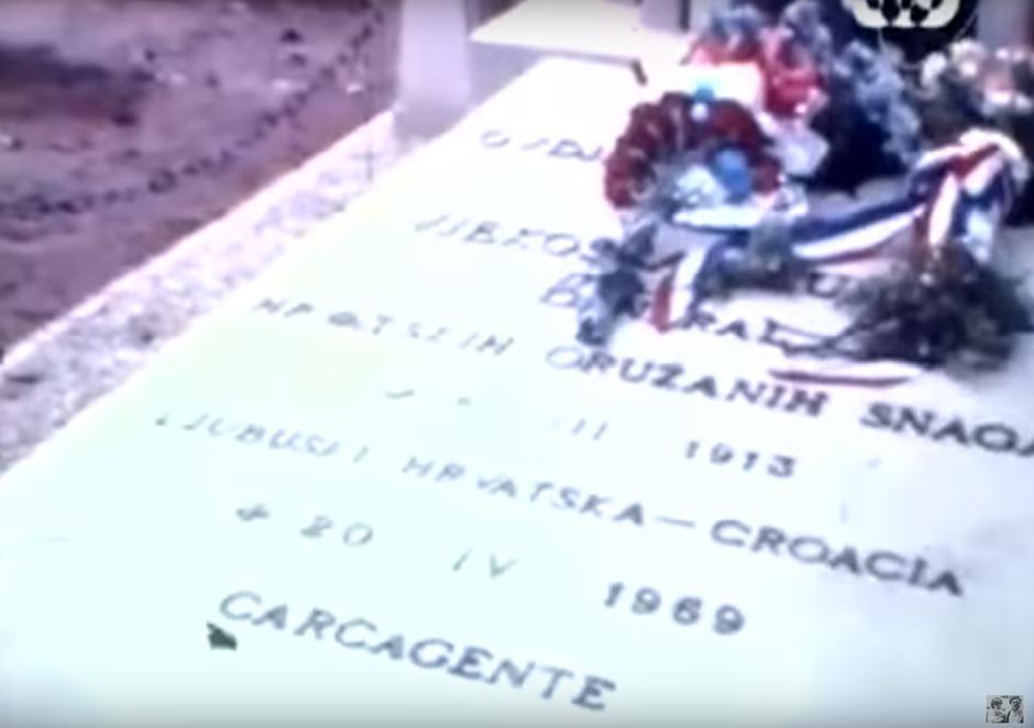 Grob Vjekoslava Luburića u Valenciji | Author: YouTube