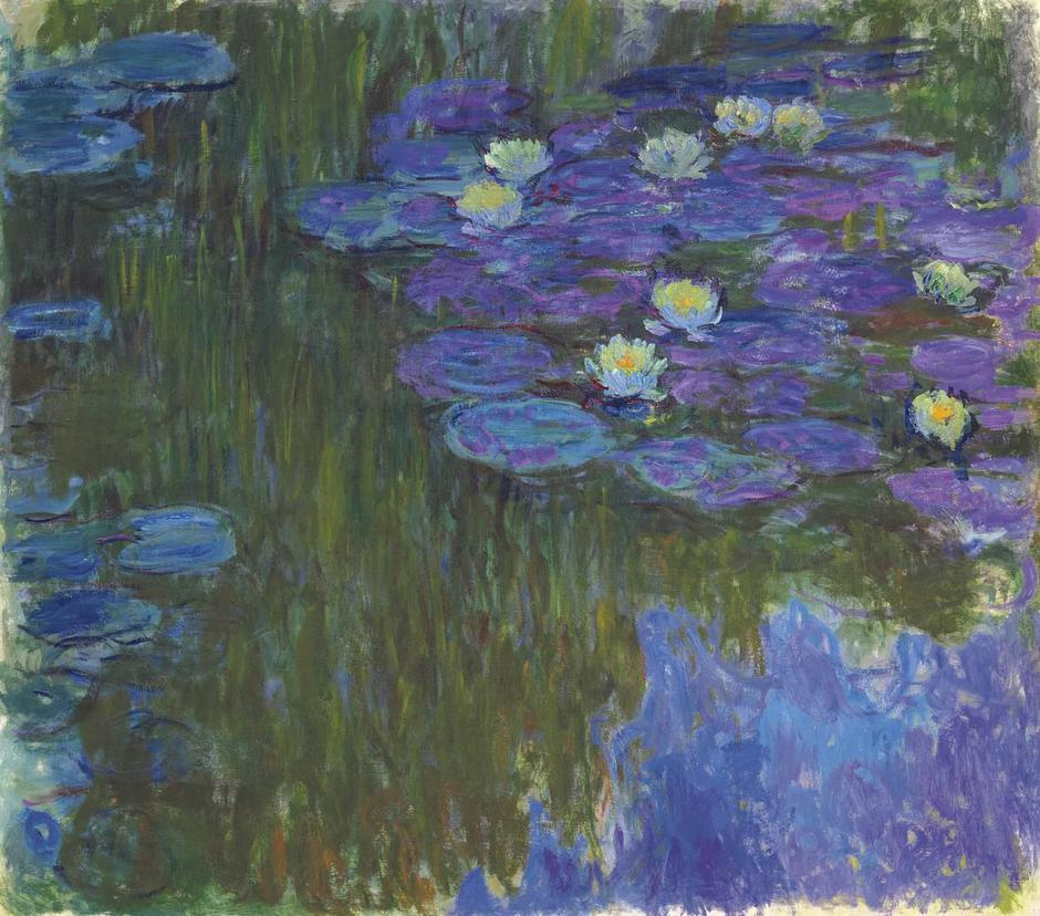 """Water Lilies"" Claudea Moneta 