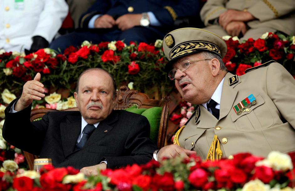 Abdelaziz Bouteflika i Ahmed Gaid Salah   Author: RAMZI BOUDINA/REUTERS/PIXSELL