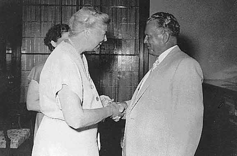 Tito i Eleanor Roosevelt | Author: Franklin D. Roosevelt Library