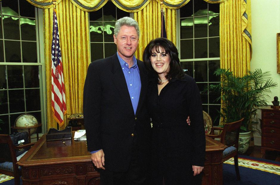 Bill Clinton i Monica Lewinsky | Author: Wikimedia Commons
