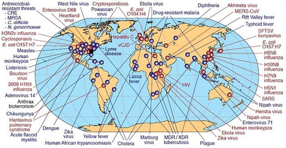 svijet pod epidemijom | Author: NIAID