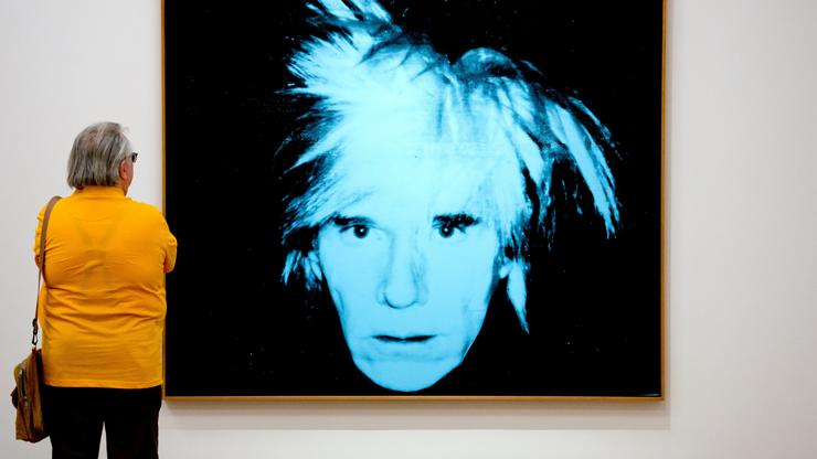 Andy Warhol - autoportret