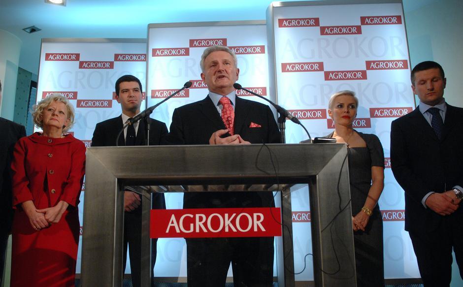 Ivica Todorić i ostali ljudi iz Agrokora | Author: Marko Prpić/PIXSELL