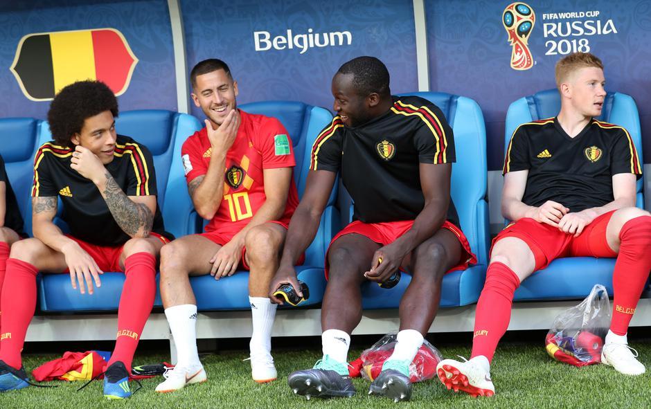 Axel Witsel, Eden Hazard, Romelu Lukaku i Kevin De Bruyne | Author: MARIANA BAZO/REUTERS/PIXSELL/REUTERS/PIXSELL