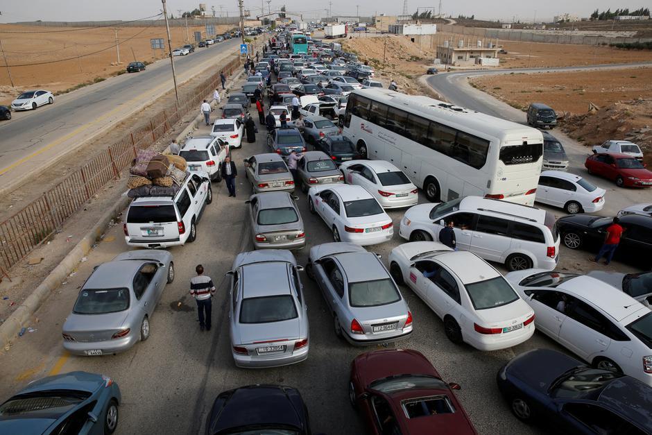 Jordansko-sirijska granica - povratak u Siriju | Author: MUHAMMAD HAMED/REUTERS/PIXSELL