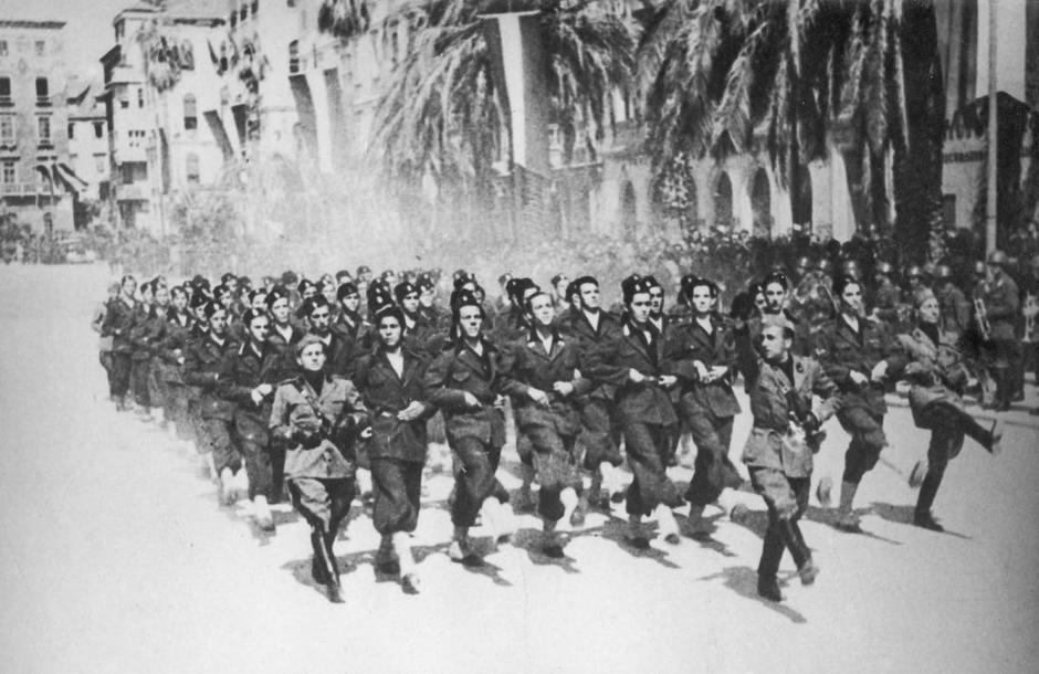 Split 1943., talijanska okupacija i otpor | Author: ratnakronikasplita.com