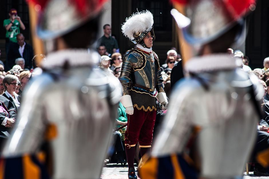 Švicarska straža u Vatikanu | Author: ALESSIA GIULIANI/Milestone Media/PIXSELL