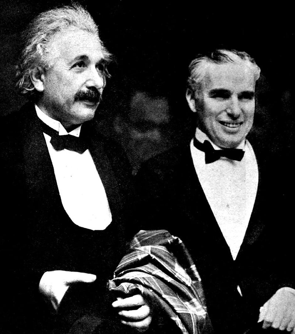 Albert Einstein i Charlie Chaplin | Author: Wikipedia