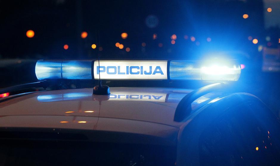 Policijski automobil - ilustracija očevida | Author: Željko Lukunić/PIXSELL