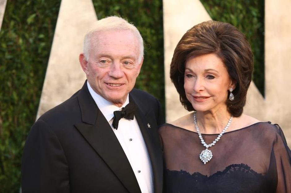 Jerry Jones | Author: Press Association/PIXSELL