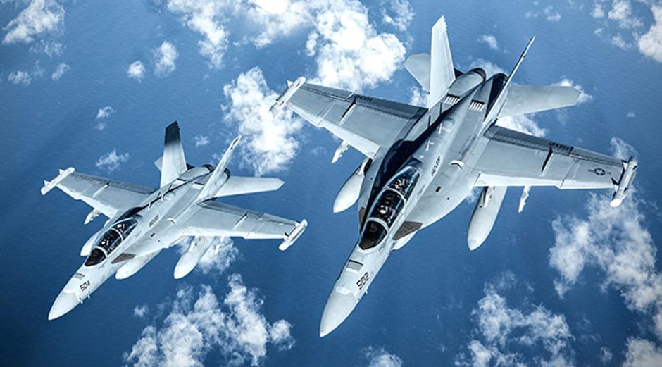 EA-18G Growler   Author: USA Navy/ public domain