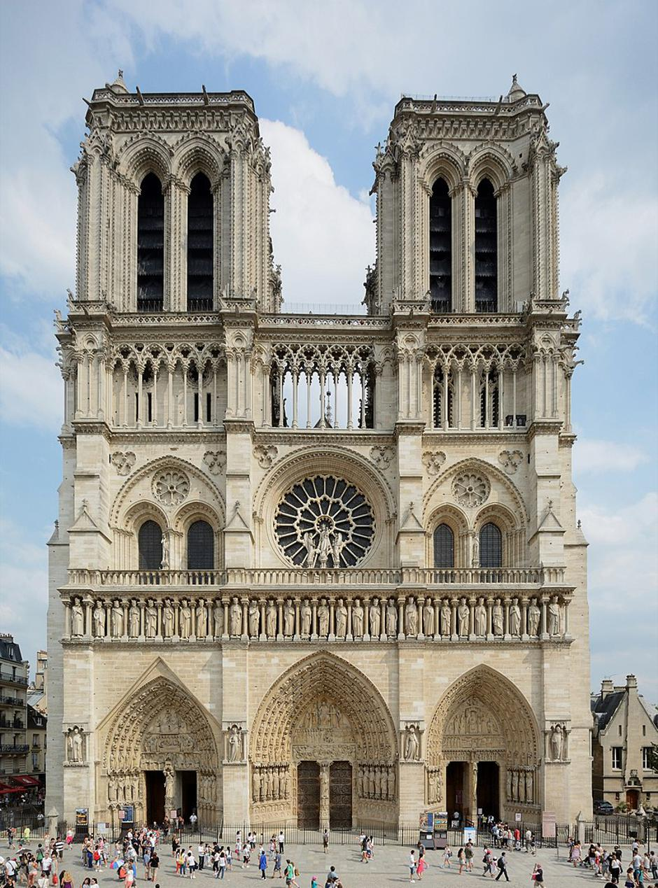Notre Dame zvonici | Author: Wikipedia