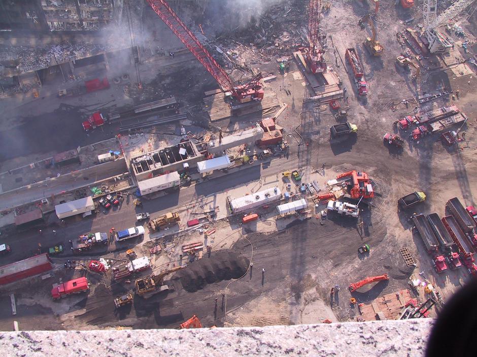 Fotografije radova na srušenim WTC tornjevima nakon 11.9. | Author: Jason Scott/Flickr