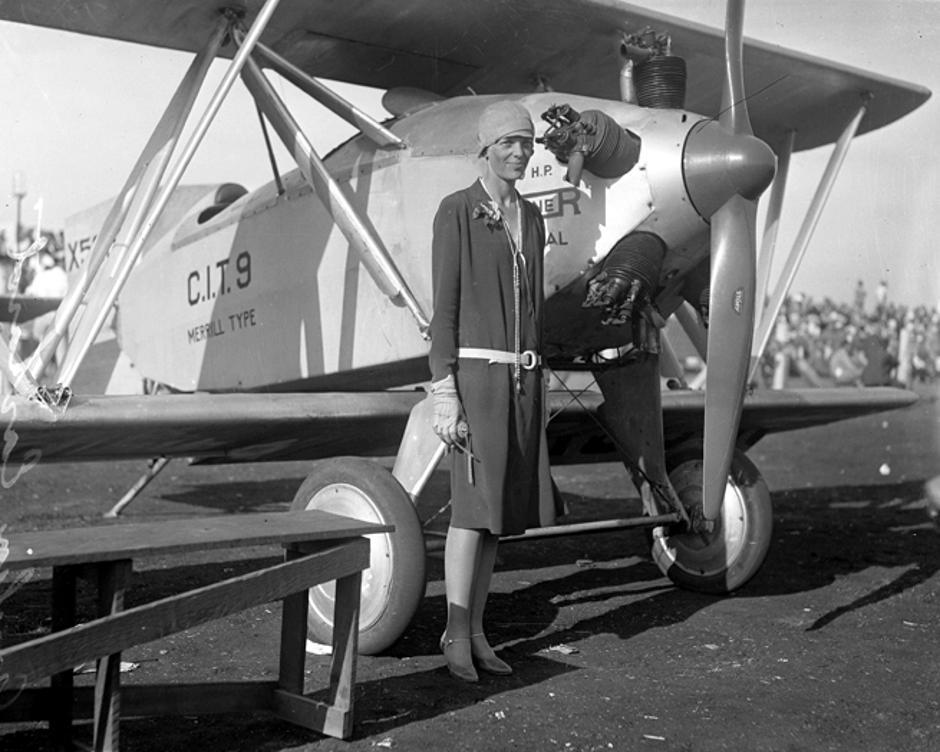 Avijatičarka rekorderka Amelia Earhart | Author: Wikipedia