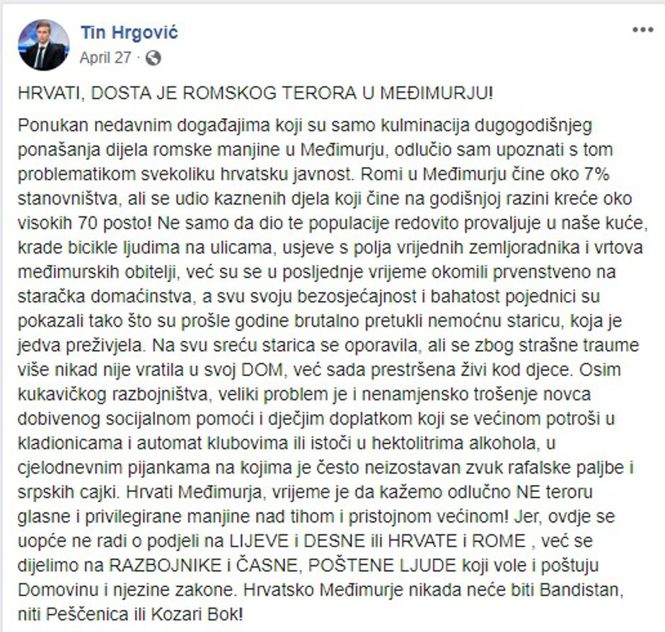 Tin Hrgović | Author: Facebook