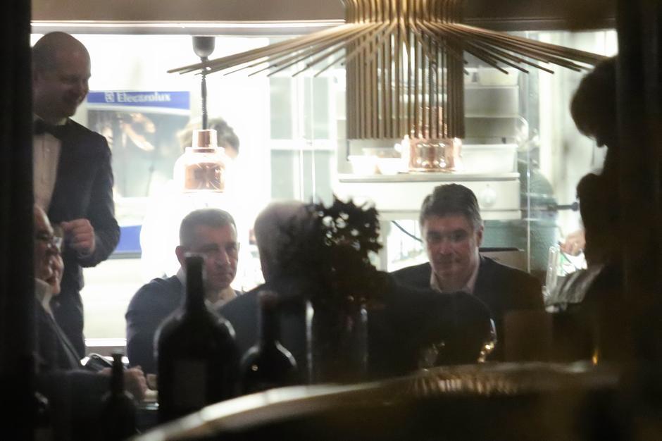 Gotovina i Milanović na večer | Author: Tomislav Miletic (PIXSELL)
