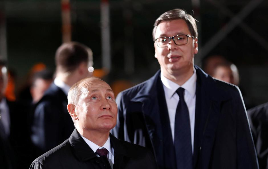Vladimir Putin, Aleksandar Vučić | Author: GORAN TOMASEVIC/REUTERS/PIXSELL