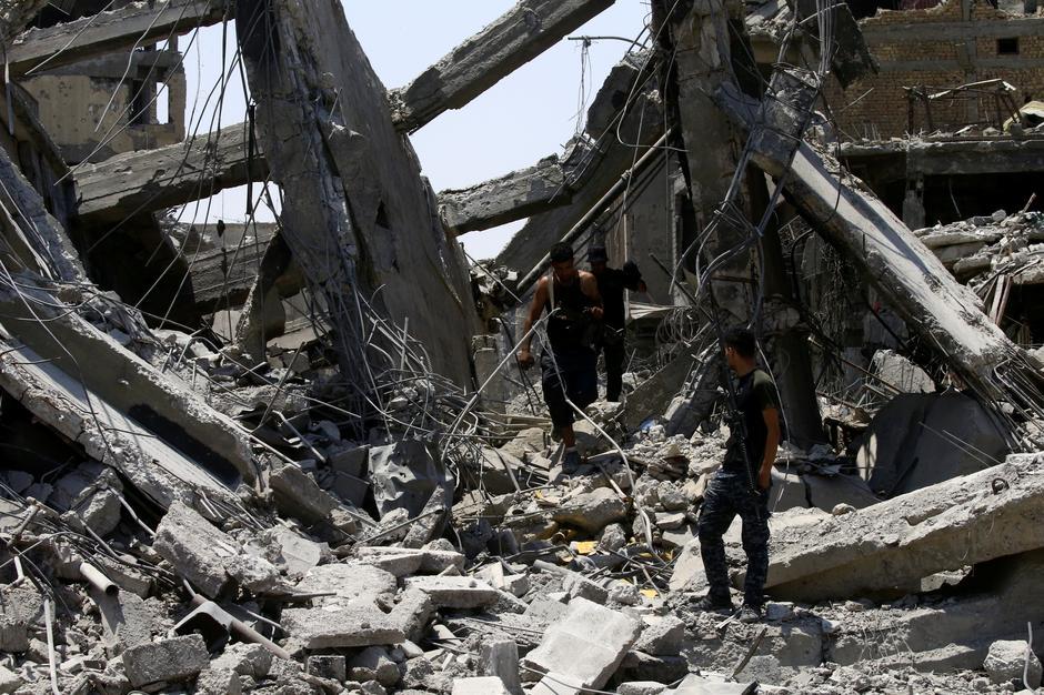 Uništenje u Mosulu | Author: THAIER AL-SUDANI/REUTERS/PIXSELL