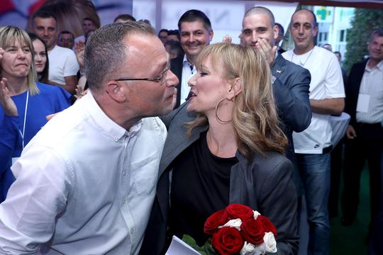 Zlatko Hasanbegović i Bruna Esih