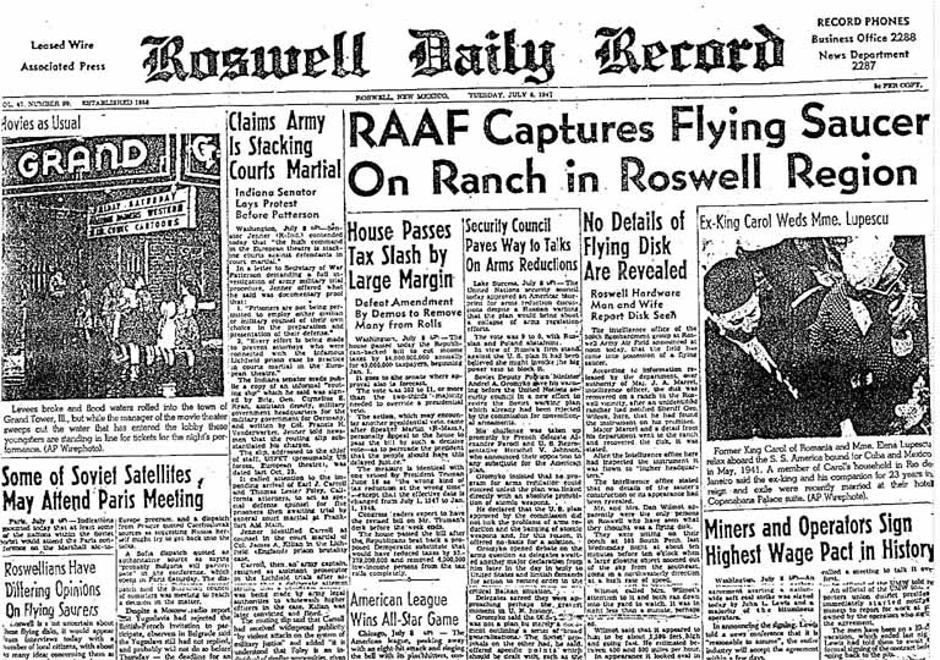 Roswell Daily Record | Author: public domain