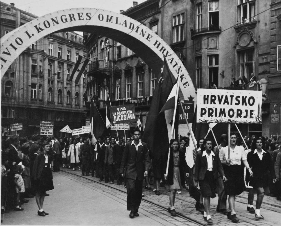 Zagreb u lipnju 1945. | Author: Hrvatski povijesni muzej u Zagrebu/ privatna zbirka