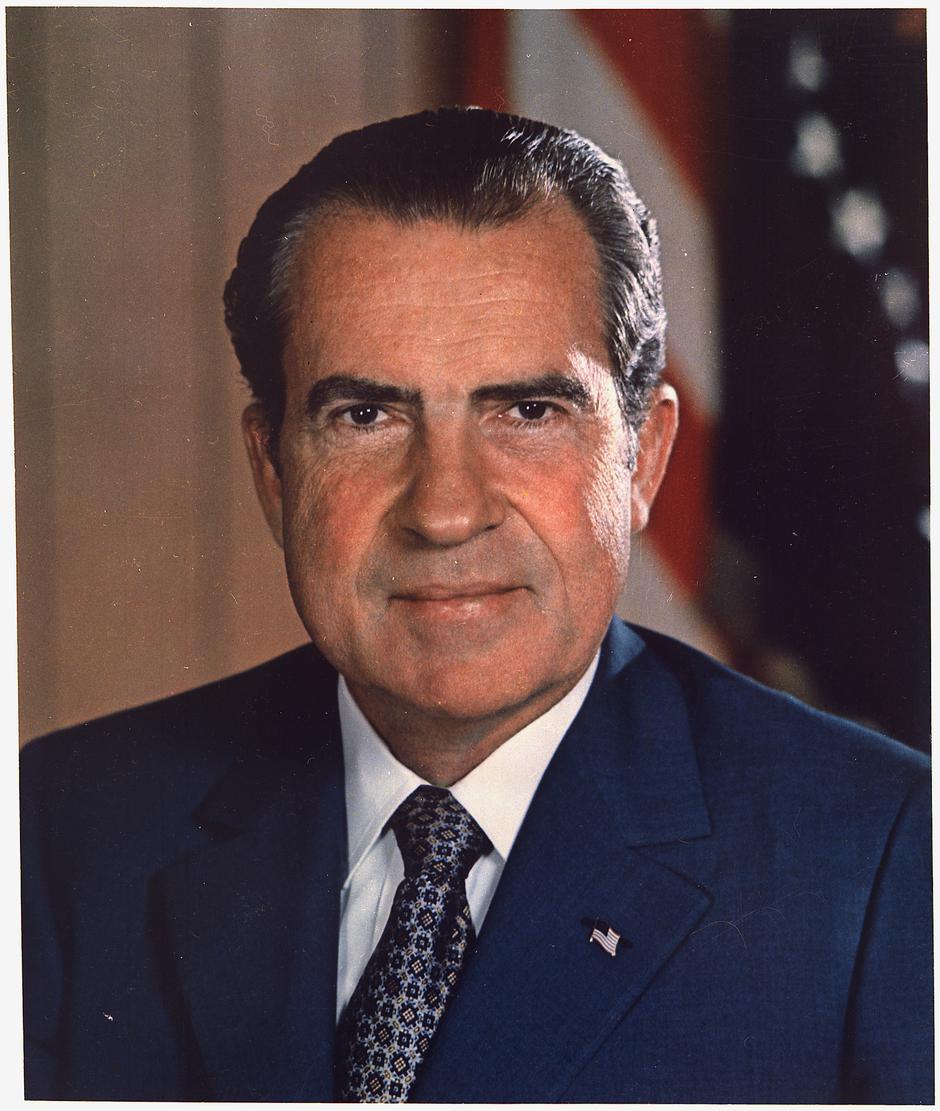 Richard Nixon | Author: US National Archives