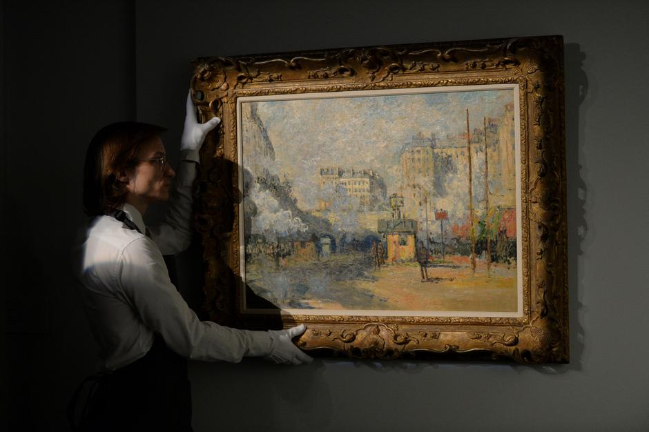 Claude Monet - Eksterijer stanice Saint-Lazare | Author: Kirsty O'Connor/Press Association/PIXSELL