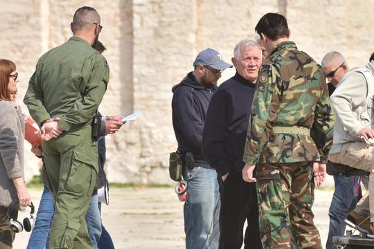 Zadar: Na Forumu se snima General, Mustafa Nadarević glumi Janka Bobetka