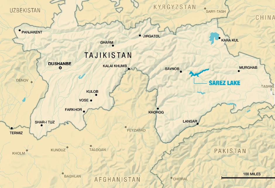 Jezero Sarez u Tadžikistanu | Author: Zoi Environment Network