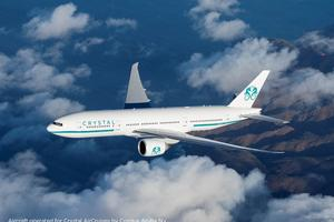 Crystal Aircruses Boeing 777