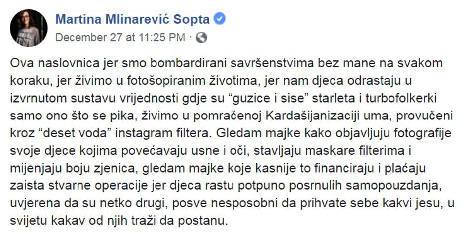 Martina Mlinarević Sopta | Author: