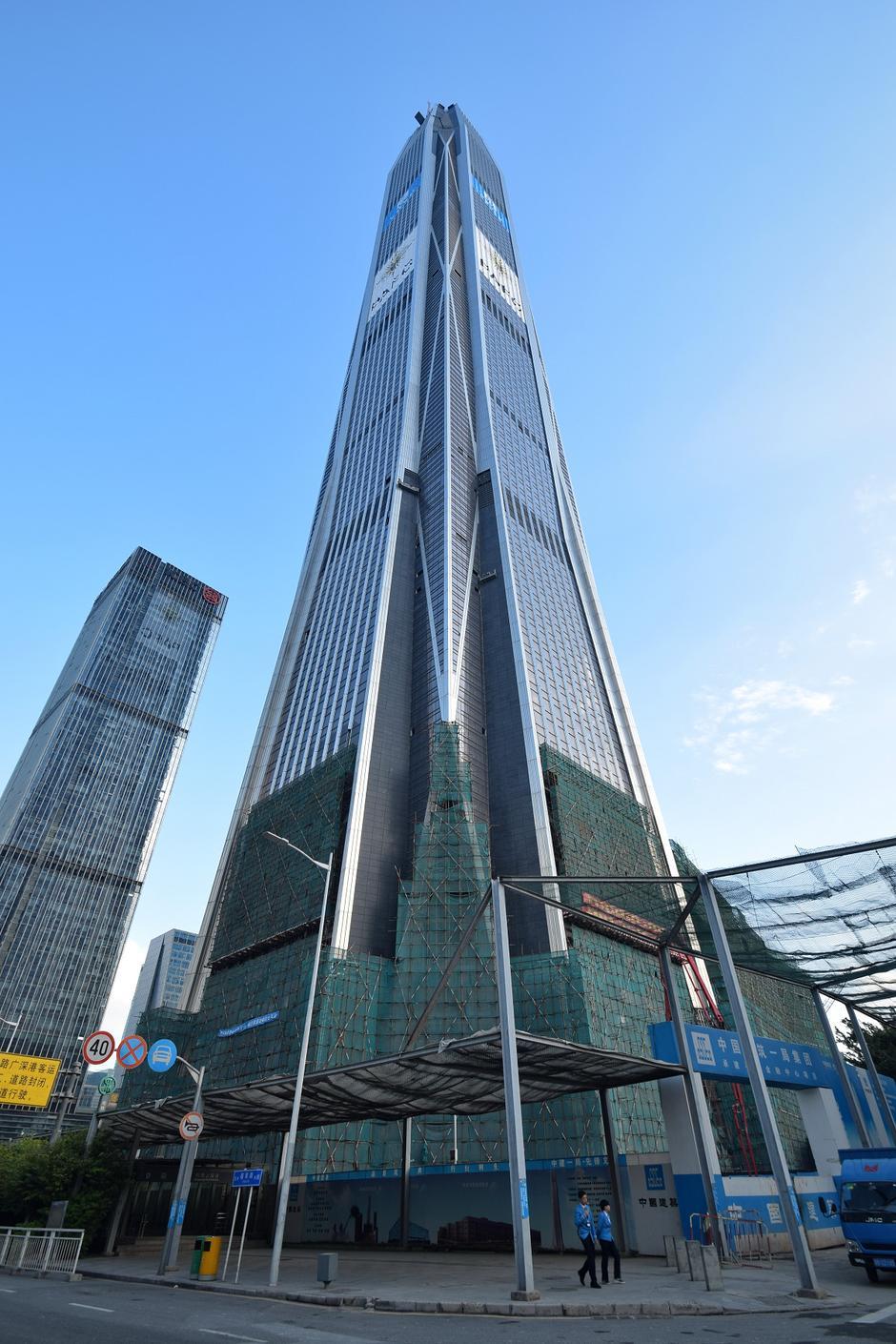 Financijski centar Ping u Shenzhenu | Author: Wikipedia