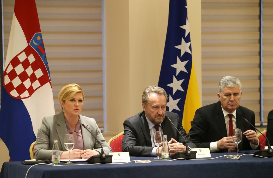 Kolinda Grabar Kitarović, Bakir Izetbegović, Dragan Čović | Author: Ivo Čagalj/PIXSELL