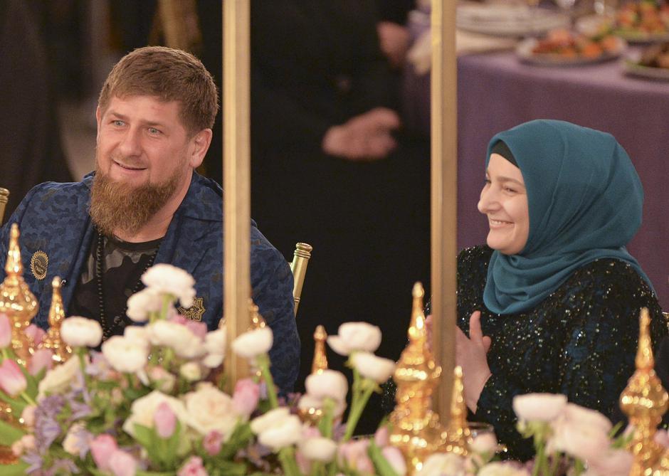 Ramzan Kadirov sa suprugom | Author: REUTERS