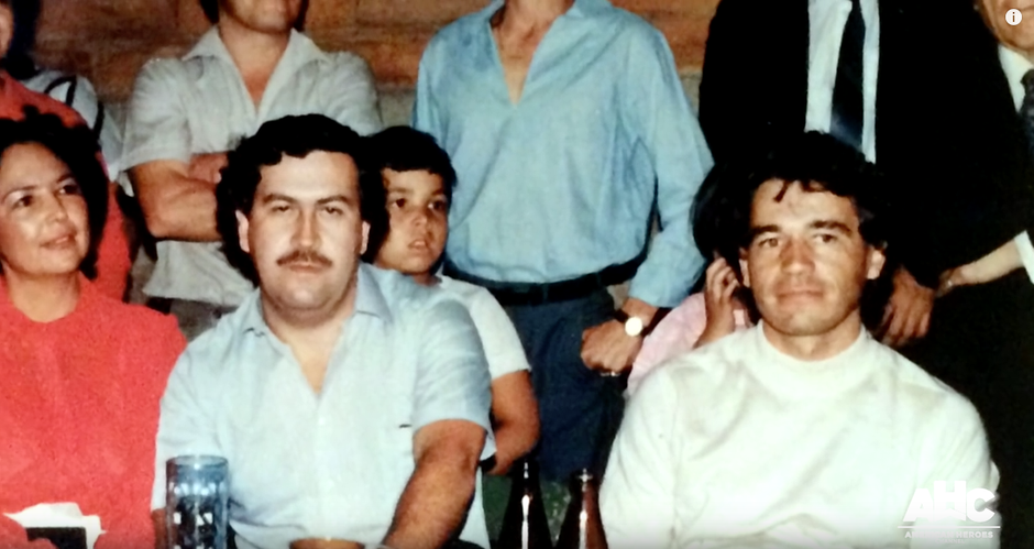 Pablo Escobar i Carlos Lehder Rivas | Author: Screenshot Youtube