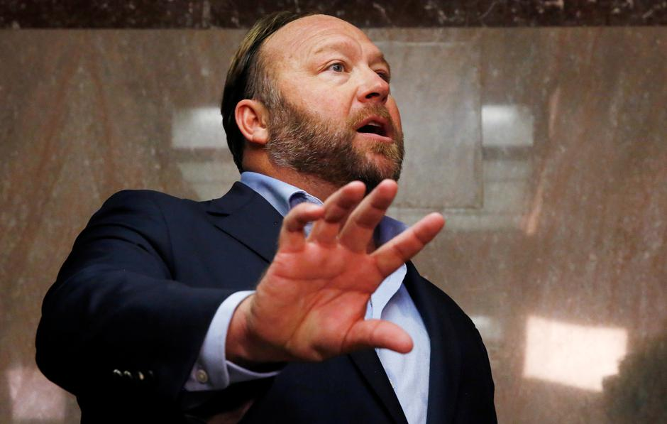 Alex Jones | Author: JIM BOURG/REUTERS/PIXSELL