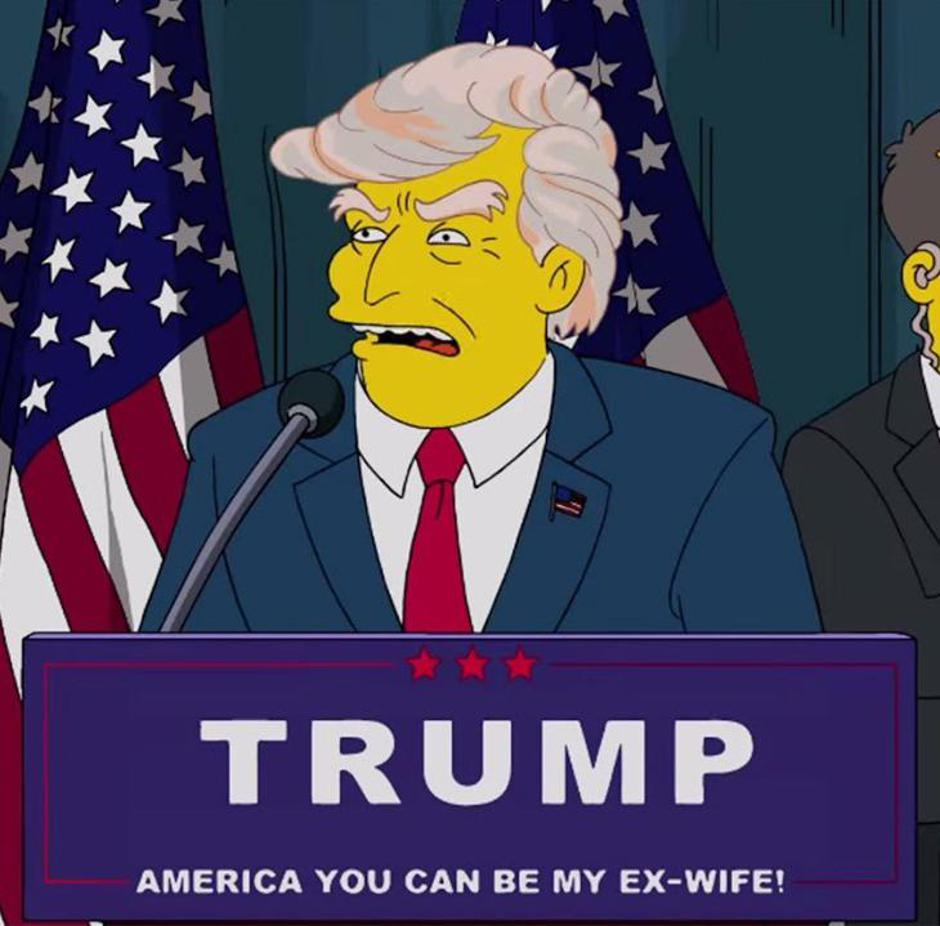 "Donald Trump u ""Simpsonovima"" 