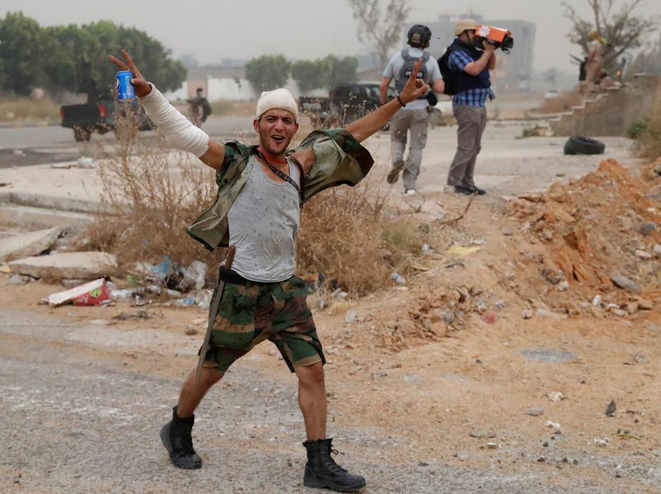 Borbe za Tripoli u ratu u Libiji u ljeto 2019. | Author: GORAN TOMASEVIC/REUTERS/PIXSELL