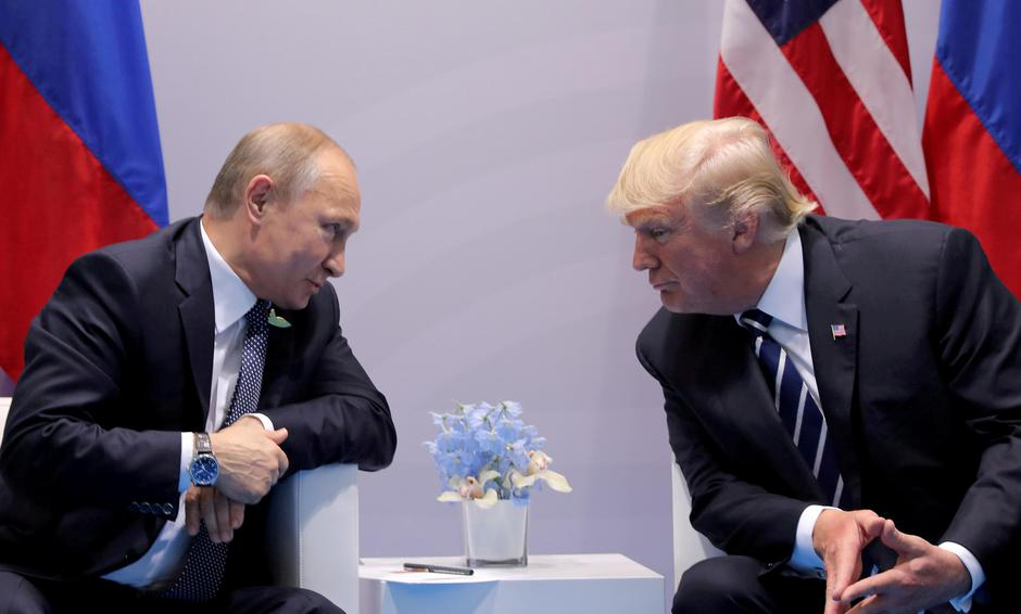 Vladimir Putin i Donald Trump | Author: REUTERS