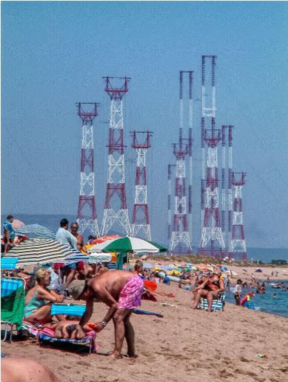 Antene u Plaja de Pals | Author: hiveminer.com