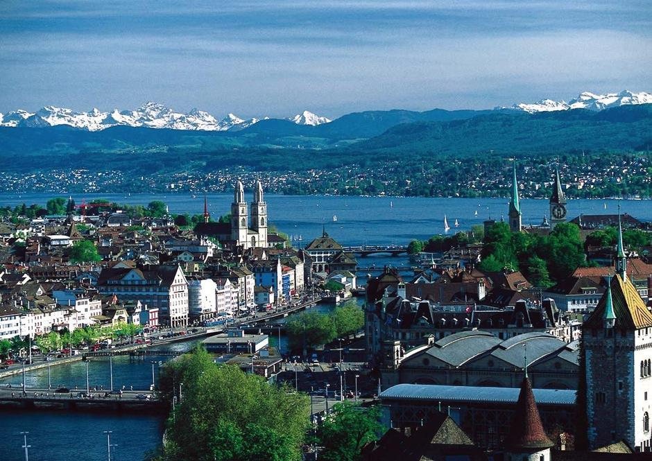 Zürich | Author: MadGeographer/CC BY-SA 3.0