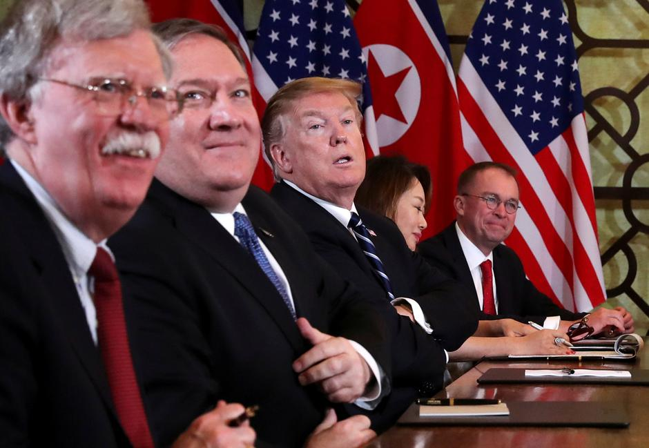 Donald Trump, Mike Pompeo, John Bolton | Author: LEAH MILLIS/REUTERS/PIXSELL