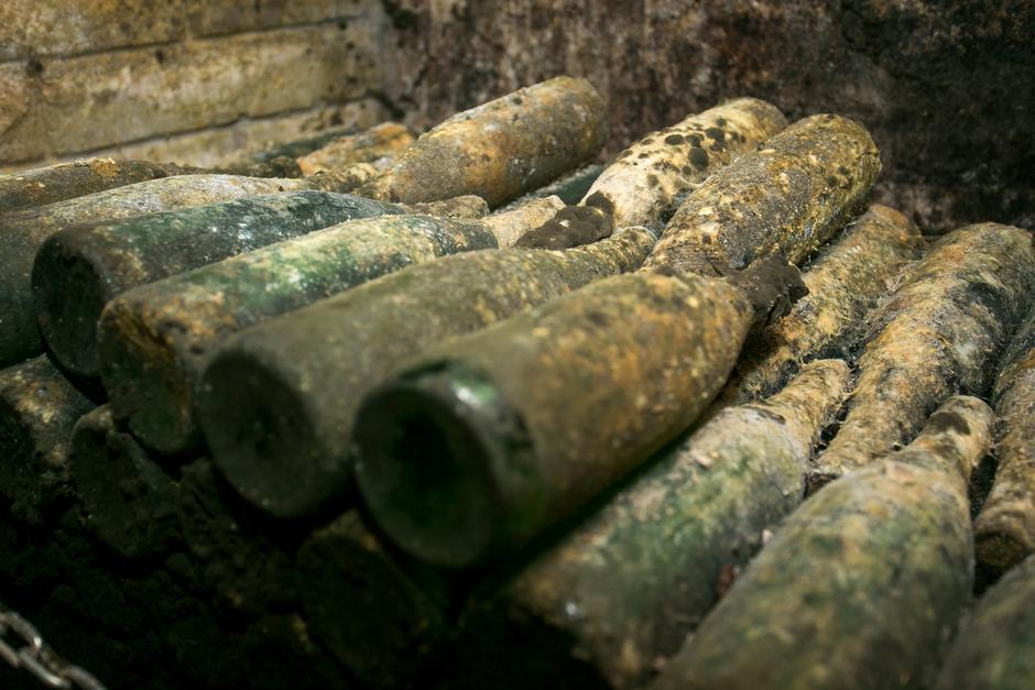 Ilok: Franjo Volf tijekom 1991. godine sakrio oko 2100 boca Traminaca | Author: Davor Javorovic (PIXSELL)