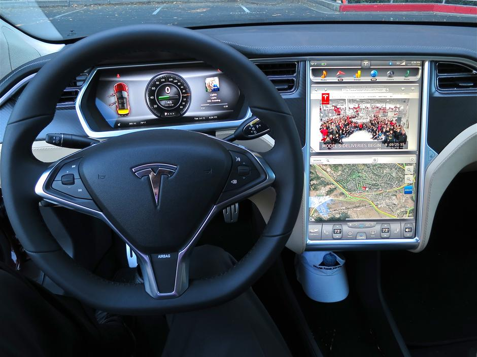 Tesla Motors Model S | Author: Wikipedia